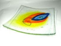 Schale, Bunt, Modern, Glas
