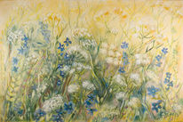 Wiesenblumen, Malerei, Blumen