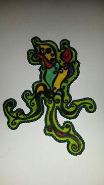 Maori, Zeichnung, Entwurf, Zeichnungen