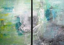 Abstrakt, Hände, Tagtraum, Traumwelt