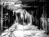 Abbild, Fantasie, Schwarzweiß, Digitale kunst