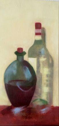 Grün, Rot, Wein, Malerei