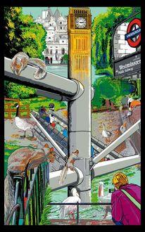 London, Unterirdisch, Jamess, Eichhörnchen