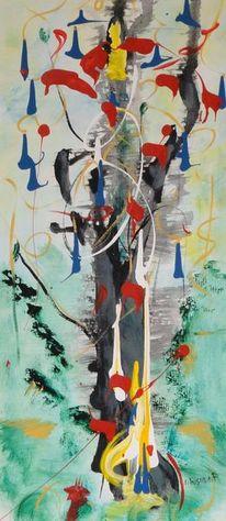 Acrylmalerei, Modern, Promising, Gemälde