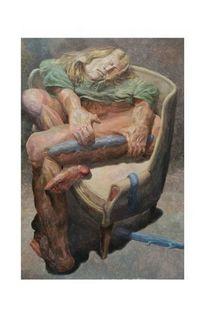 Menschlichkeit, Figurativ, Gegenständlich, Malerei