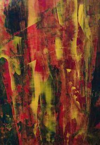 Spachtel, Technik, Acrylmalerei, Malerei