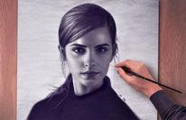 Portraitzeichnung, Gezeichnete bilder, Gesicht, Portrait zeichnen