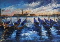 Gemälde, Ölmalerei, Architektur, Malerei