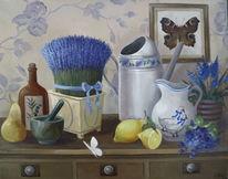 Gemälde, Natur, Ölmalerei, Stillleben