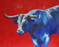 Ölmalerei, Gemälde, Rot, Malerei