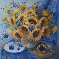 Ölmalerei, Gemälde, Malerei, Stillleben
