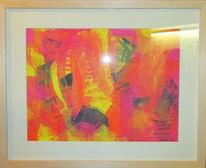 Abstrakt, Acrylmalerei, Malerei, Wut