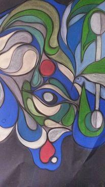 Malerei, Frieden, Freiheit, Freude