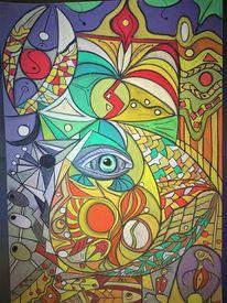 Wortlos, Fantasie, Abstrakt, Rund