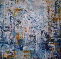 Abstrakt, Malerei, Wintertag