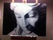 Malerei, Ölmalerei, Engel
