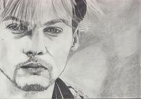 Zeichnung, Bleistiftzeichnung, Zeichnungen, Portrait