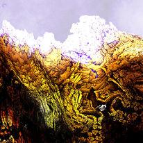 Fraktalkunst, Mandelbulb, Digital, Landschaft