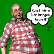 Cartoon, Comic, Digitale kunst,