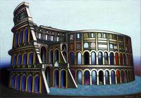 Architektur, Fantastisch, Magie, Realismus