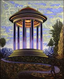 Magischer realismus, Malerei, Phantastische malerei,