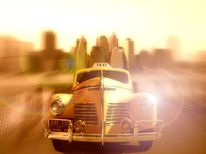 Digitale kunst, New york, Taxi