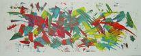 Acrylmalerei, Fantasie, Praxis, Geburtstag