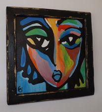 Kunstgegenstände, Gemälde schmücken, Raumausstattung, Kunstausstellungen