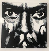 Jazz, Portrait, Prominent, Rabatt leinwand