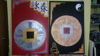 Surreal, Chinesisch, Ende, Buddha