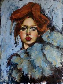Mädchen, Tanz, Portrait, Passion