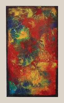 Acryl abstract, Acryl abstrakt, Acryl painting, Acryluntermalung