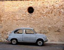 Spanien, Fotografie, Fiat 500, Fine art foto