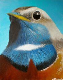 Vogel, Gemälde, Malerei, Tiere