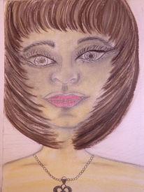 Person, Jung, Gesicht, Malerei