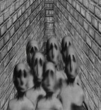 Ablehnung, Ablenkung, Absicht, Digitale kunst