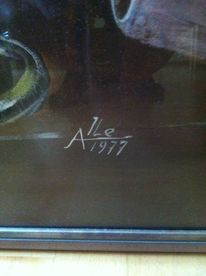 Malerei, Unterschrift, Signatur
