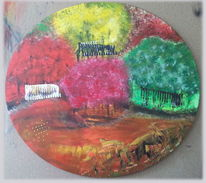 Abstrakt, Malerei, Baum, Startup