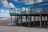 Insel, Nordsee, Niederlande, Strandcafe
