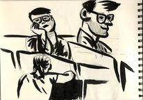 Zeichnungen, Skizzenbuch, 2014