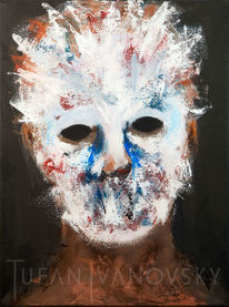 Gefühl, Maske, Düster, Angst