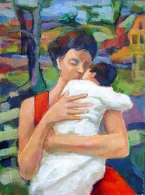 Wunderbar, Kind, Kuss, Muttertag