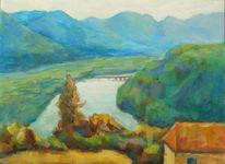 Fluss, Urlaub, Kärnten, Karawanken