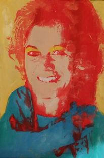 Portrait, Popart, Druckgrafik,