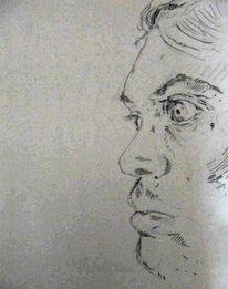 Selbstportrait, Zeichnungen
