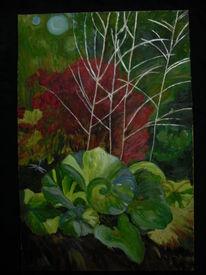 Garten, Grün, Pflanzen, Blätter