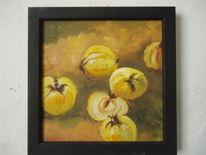 Früchte, Gelb, Herbst, Stillleben