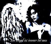 Angel, Engel, Digitale kunst, Digital art