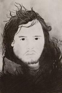 Fanart, Bleistiftzeichnung, Zeichnung, Mann