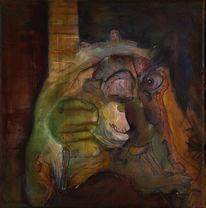 Wahrheit, Begegnung, Malerei, Kopf